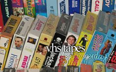 we still have a VCR and almost all my Disney movies are on VHS