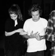 harry styles and selena gomez tumblr | Selena Gomez and Harry Styles manip requested by an anon.