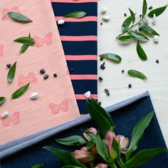 PERHONEN, Papaya | NOSH Fabrics Spring & Summer 2016 Collection - Shop at en.nosh.fi | Kevään 2016 malliston kankaat saatavilla nyt nosh.fi