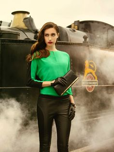 dbbfc44b9f5ee0 Ted Baker AW13 Lookbook - Take the Scenic Route