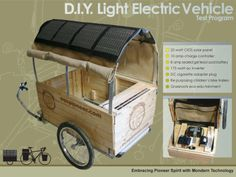 diy bike camper - Google Search