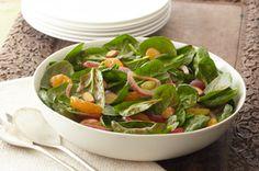 Gather 'round spinach salad