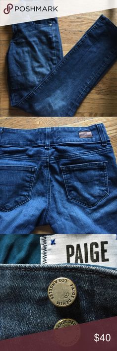Paige Jeans Hidden hills straight leg. Size 25 obsessed with them but more into skinny jeans now. Offer a bundle discount or make a offer Paige Jeans Jeans