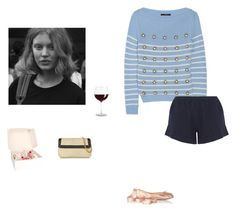 """""""down in the past"""" by piainl ❤ liked on Polyvore featuring Gucci, Skin, Ballet Beautiful, Buti, women's clothing, women, female, woman, misses and juniors"""