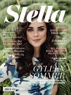 Nytt Stella i salg nå! | Stellamagasinet.no Covergirl, Movie Posters, Pictures, Image, Photos, Photo Illustration, Cover Girl, Film Posters, Billboard