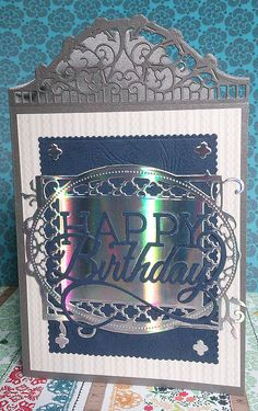 Blog tonic: A birthday Card - a post from Doda
