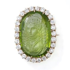 gorgeous cameo ring/broach