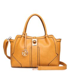 Another great find on #zulily! Camel Deco Satchel by Segolene Paris #zulilyfinds