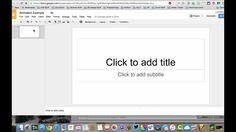 Stop Motion Animation using Google Slides