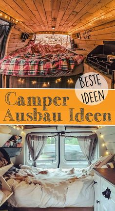 Camper expansion idea # Ausbau Idee If you are interested in information about camper expansion, you will find many valuable tips and tricks in this guide on converting a van to a motorhome. Bus Camper, Van Camping, Camping Hacks, Airstream, Europa Tour, Audi, Expansion, Bmw Autos, Campervan Interior