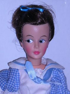 Gray Streaks, Demon Baby, Tammy Doll, Famous Monsters, Brunette To Blonde, Vintage Dolls, Vintage Halloween, Wig Hairstyles, Doll Clothes