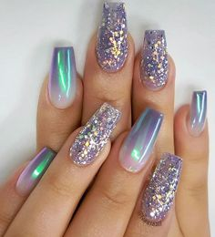 Not matching nail art designs not matching nails, glitter nails, nail art . not matching nail art designs not matching nails, glitter nails, nail art designs # . Swag Nails, Fun Nails, Bling Nails, Mermaid Nails, Best Acrylic Nails, Best Nail Art, Popular Nail Art, Pretty Nail Art, Dream Nails