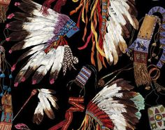 GRAND CANYON FP514002 - Designed by Pierre Frey Print Wallpaper, Fabric Wallpaper, Murs Clairs, Grand Canyon, Pierre Frey Fabric, Native American Headdress, Custom Carpet, Easy Diy Crafts, Background Patterns