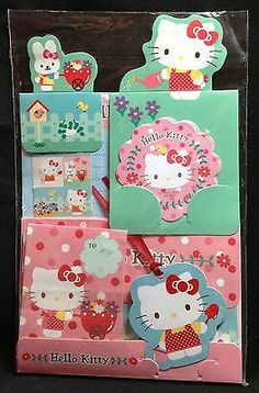 Sanrio Hello Kitty Letterset 2009 Kawaii Stationery
