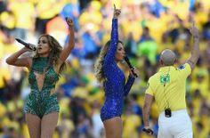 Jennifer Lopez - Opening Ceremony of FIFA World Cup Brazil Jennifer Lopez Photos, Lovely Legs, Photo L, Fifa World Cup, Opening Ceremony, Brazil, Personal Style, Singer, Sport