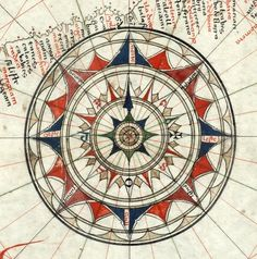 Jorge de Aguiar's Compass Rose, 1492 by grantimatter, via Flickr