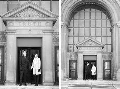 Milwaukee Winter Courthouse Wedding Photographer Laura Jonathan Little Giant Photography