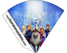 Frozen: Cute Free Party Printables.