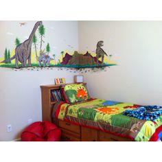 Boy's dinosaur bedroom