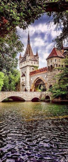 Vajdahunyad Castle. Budapest, Hungary