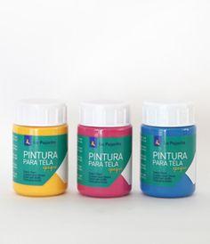 TEXTIL OPAQUE- PINTURA PARA TELA OPACA Pintura al agua especialmente diseñada para pintar sobre telas de cualquier color incluso negra, con óptimo grado de viscosidad, extensibilidad y f ...