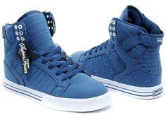 4e0771c9ca44 Mens Supra Skytop in Blue Mens Blue Dress Shoes