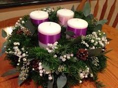Image result for advent wreath ideas