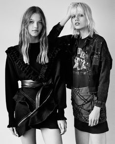 New ZARA TRF AW16 Editorial Pretty in Punk Look____0009