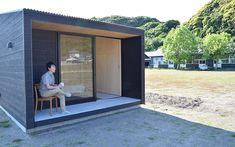「無印良品の小屋」からはじめる、二地域居住の新たなストーリー Compact House, Micro House, Tiny Container House, Backyard Cottage, Rooftop Garden, Small House Design, Japanese House, Little Houses, Play Houses