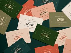 Vintage typography for the win! Lindsey Pruitt at these beautiful business cards for a photographer… Collateral Design, Stationery Design, Identity Design, Logo Design, Brand Identity, Design Design, Self Branding, Corporate Branding, Personal Branding