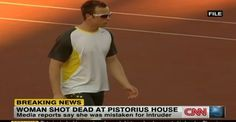 Celebrity News: Olympic runner, Oscar Pistorius charged with murder in death of model girlfriend   AT2W