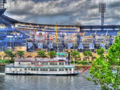 The river, PNC Park and the GC fleet. Doesn't get any more Pittsburgh than this! Oh The Places You'll Go, Great Places, Beautiful Places, Places To Visit, Pittsburgh Hotels, Pittsburgh Pirates, Pittsburgh Sports, Pnc Park, Quotes About Photography