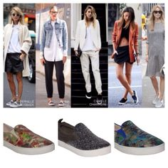 We're crazy for slip on sneakers... Embrace this new style this season.  Shop now: www.ursteps.com