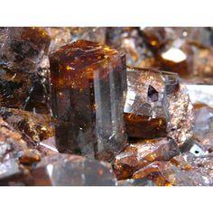 Dravite ~ Mariana, Minas Gerais, Brazil  Formula: Na(Mg3)Al6(Si6O18)(BO3)3(OH)3(OH) Strunz: 9.CK.05 Crystal System: Trigonal Hardness: 7.0