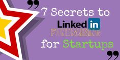 7 Steps of LinkedIn Fundraising for Start-ups Grow quality connections on LinkedIn with these simple but EFFECTIVE STEPS. Discover the best ways to approach these new contacts WITH THE PROPER MESSAGE that helps you achieve the results you desire, relatively quickly. This article offers an alternate way to generating startup funds for new businesses. Read on! Read More