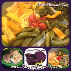 Smart steamer recipes on pinterest tupperware steamers and steamed