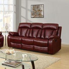 Wade Logan Terra Mar Reclining Sofa