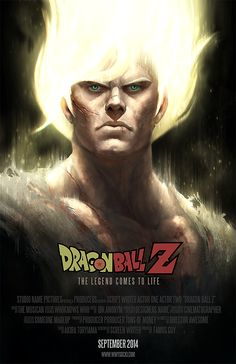 Dragonball Z Movie Posters- Created byWacław Wysocki You can follow the artist on Tumblr and Twitter.