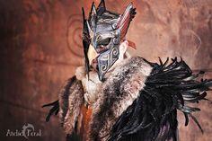 Eagle helm :) by Feral-Workshop on deviantART