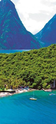 Anse Chastanet Resort on Saint Lucia in the eastern Caribbean • photo: Anse Chastanet on Jetsetter
