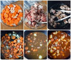 This Hearty Beef Stew will warm you to the bones. Tender cubes of beef, carrots and potatoes in a rich delicious sauce. Everyone is sure to crave! Easy Beef Stew, Beef Stew Meat, Spanish Beef Stew Recipe, Beef Soup Recipes, Crockpot Recipes, Meatloaf Recipes, Seafood Recipes, Cooking Recipes, Best Stew Recipe