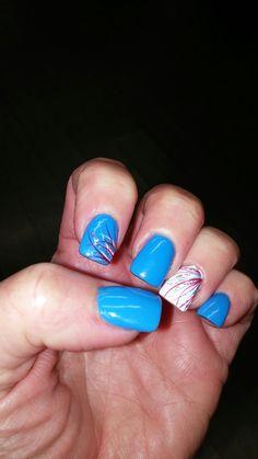Forth of july 2016 New Nail Designs, Nail Art, Nails, Beauty, Finger Nails, Ongles, Nail Arts, Beauty Illustration, Nail Art Designs