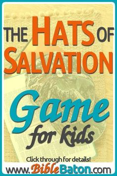 The Hats of Salvation Game {The Armor of God: Helmet of Salvation} Bible Object Lessons, Bible Lessons For Kids, Bible For Kids, Youth Lessons, Kids Sunday School Lessons, Sunday School Crafts, Kids Class, Sunday School Activities, School Ideas