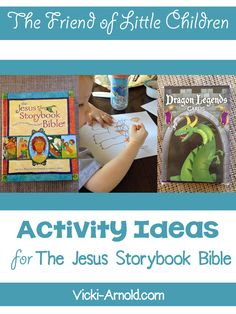 Activity Ideas for The Friend of Little Children - Jesus Storybook Bible - Simply Vicki Bible Story Book, Bible Stories For Kids, Bible Story Crafts, Bible Crafts For Kids, Bible Study For Kids, Kids Bible, Preschool Bible Lessons, Bible Activities, Storybook Crafts