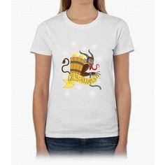 Gruss Vom Krampus Womens T-Shirt