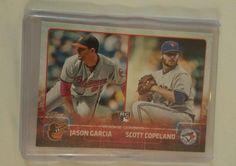 2015 Topps Update, Rookie Combos, Jason Garcia & Scott Copeland #US114 (RC) in Sports Mem, Cards & Fan Shop, Cards, Baseball | eBay