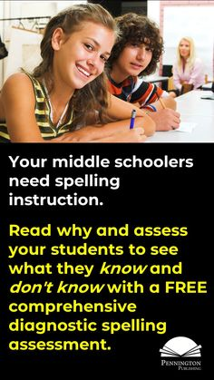 Middle school teachers should be teaching spelling. Here are 10 research-based reasons why. Plus, get a FREE comprehensive diagnostic assessment to see the needs of your students. Response To Intervention, Reading Assessment, Reading Intervention, Teaching Reading Strategies, Reading Fluency, Reading Resources, Middle School Writing, Middle School Teachers, High School