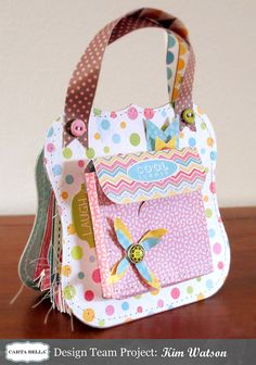 "Summer Camp Day #7: ""Cool Summer"" Purse Album"