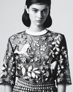 Antonina Vasylchenko by Toby Knott for Tank S/S 2013