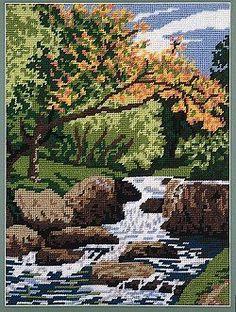 Autumn Falls Tapestry Kit 1402